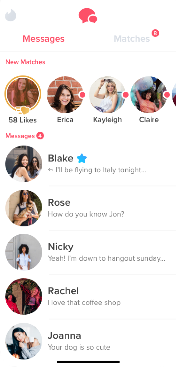 《Tinder》係最多人用嘅交友 app 之一,用法簡單直接。