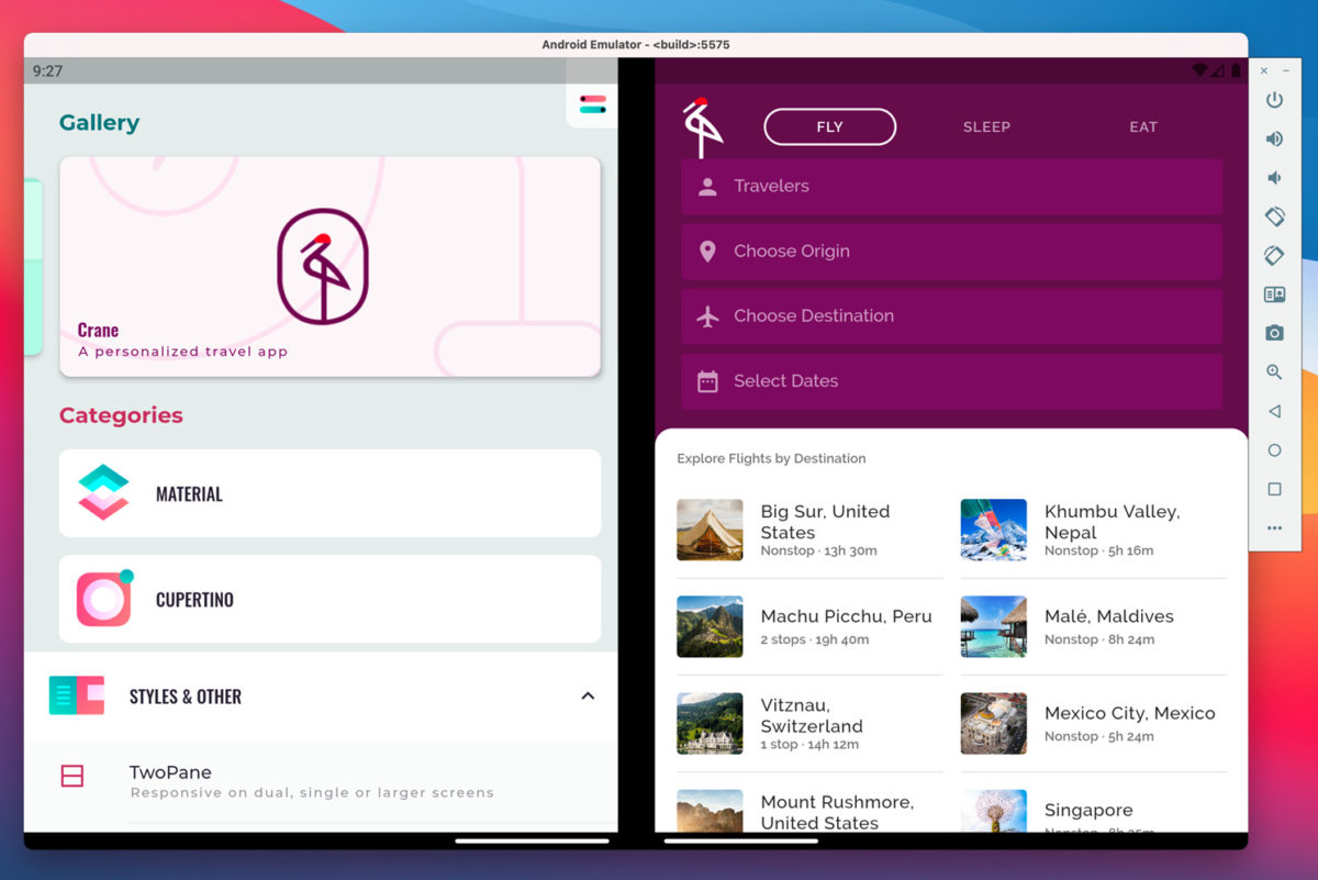 Microsoft 為 Flutter 引擎推出新類別,讓開發人可以 Flutter 來開發跨屏幕 Android 應用。