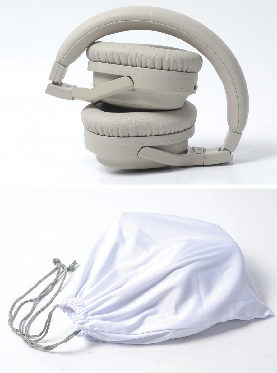 採用摺疊式設計,並附送質料柔滑的布袋方便收納。