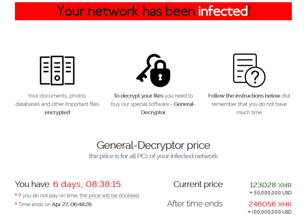 為 Apple 代工生產的廣達電腦遭 REvil 勒索軟件攻擊,歹徒同時要求廣達電腦和 Apple 交付贖金買回被竊資料。