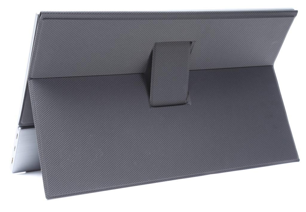 磁吸式保護蓋的獨特設計,提供更佳的支撐力,即使較直立擺放也有穩陣。