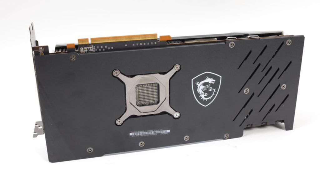 AMD RX 6900 XT 功耗不及 NVIDIA RTX 3090 ,只要普通的金屬背板即可。