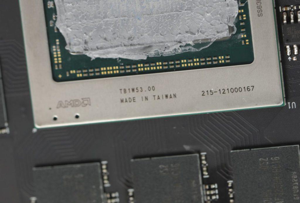 採用編號 「 215-121000167 」 的 Navi 21 XTX 核心