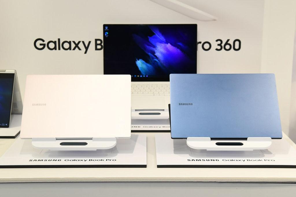Samsung Galaxy Book Pro 採用第十一代 Intel Core 處理器並有 Intel Evo 認證。