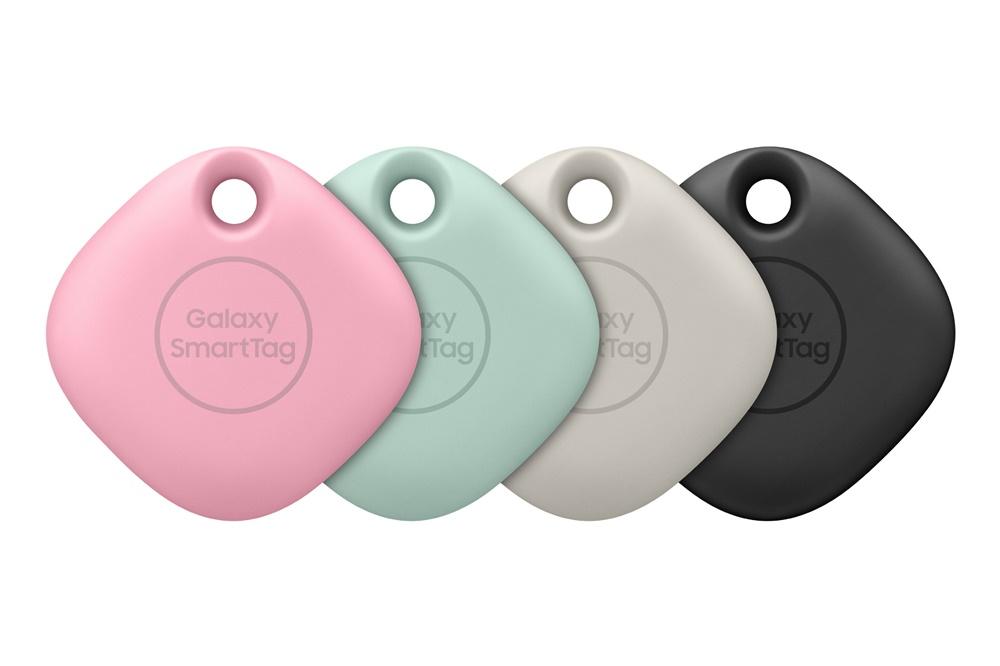 四個裝的 Galaxy SmartTag 會有全黑色 / 粉紅色、薄荷色、燕麥色、黑色兩個版本,售 $668。
