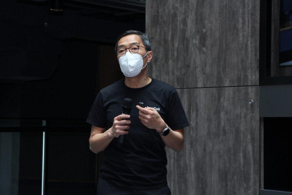 黃克強稱,創新斗室為香港的新嘗試,包括概念和建築方式。