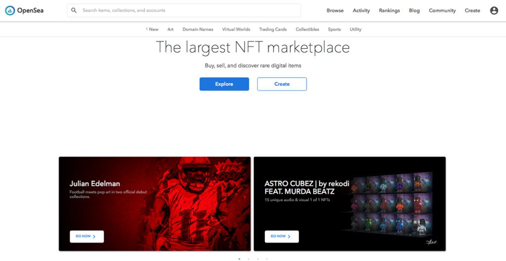 將作品 Mint 成 NFT 前最好做足功課,選擇在那一個平台上發布,這次他選擇了 OpenSea。