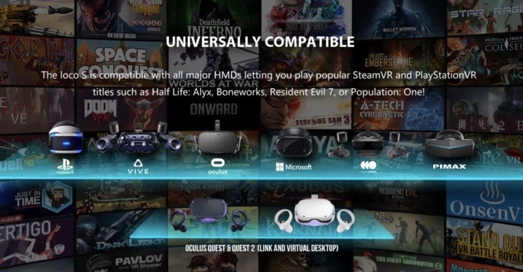支援主流平台 VR 裝置,連 PSVR 也支援。