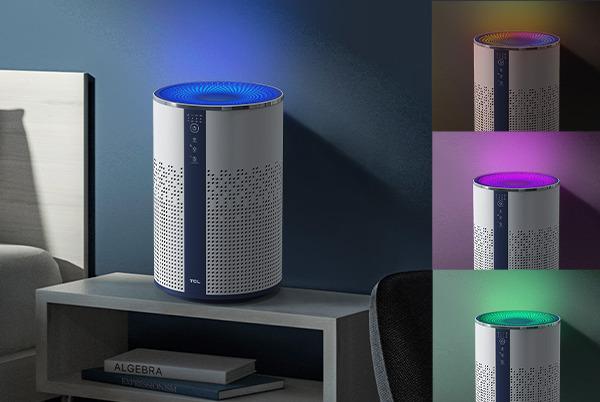 360 度環圓設計,配備可根據場景調整的7色氛圍燈。