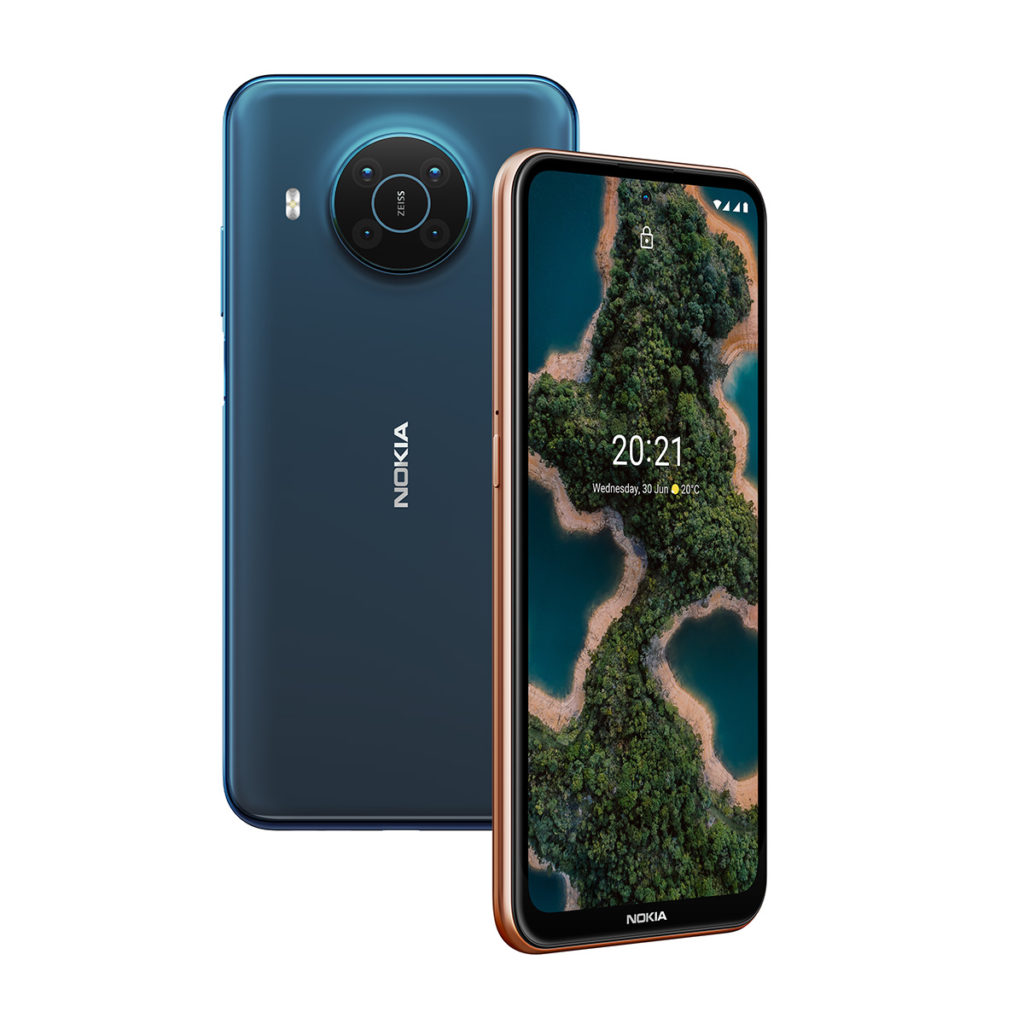 Nokia X20 相信是針對平價 5G 手機市場而來,採用 Snapdragon 480 5G處理器,64MP主鏡、5MP 超廣角、2MP 微距及2MP 景深的四鏡頭具備Zeiss 光學認證。