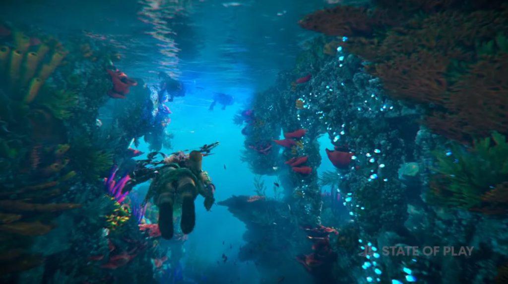 在海洋中同樣會有機器獸出現。