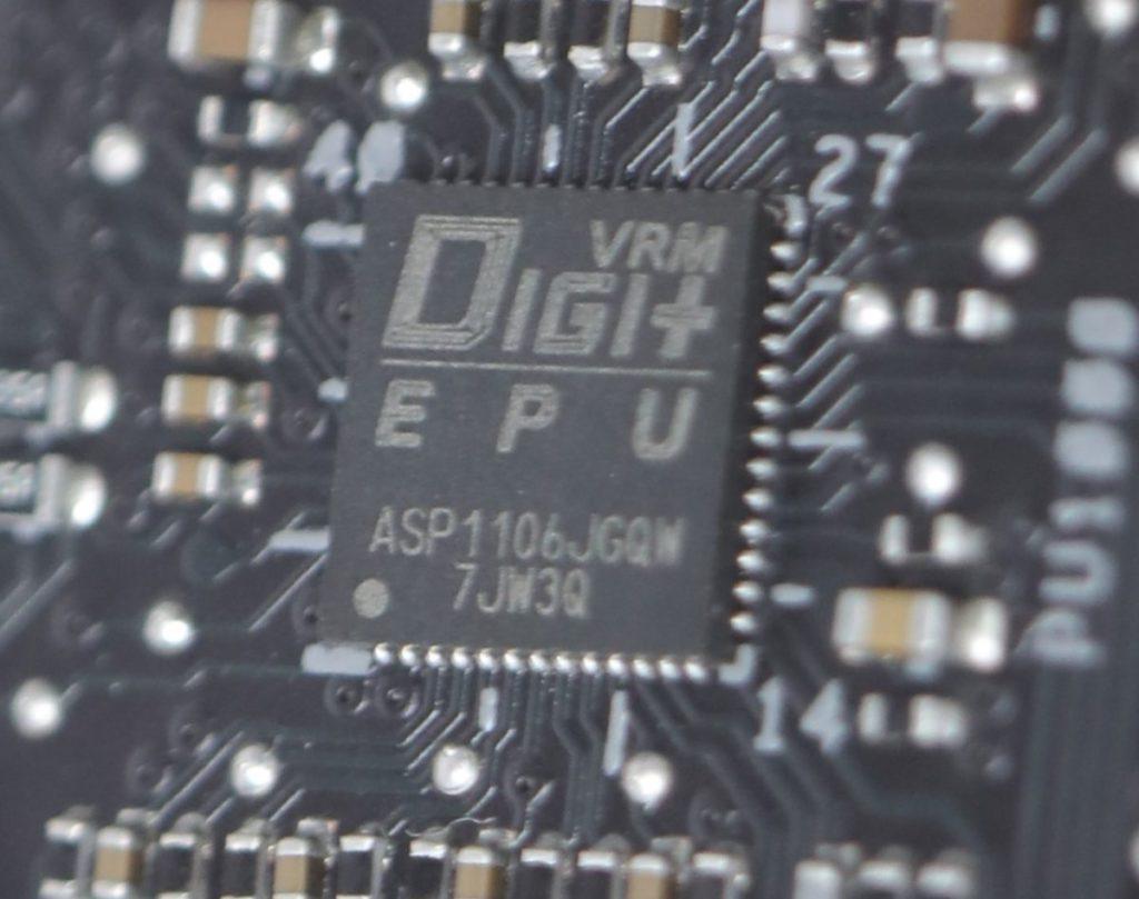 CPU PWM晶片為DIGI+ EPU晶片。