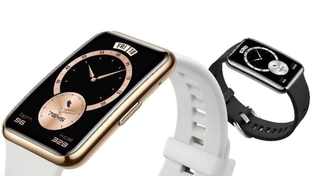 HUAWEI Watch Fit Elegant Edition 售$1,188,已於各大零售商及電訊商有售。