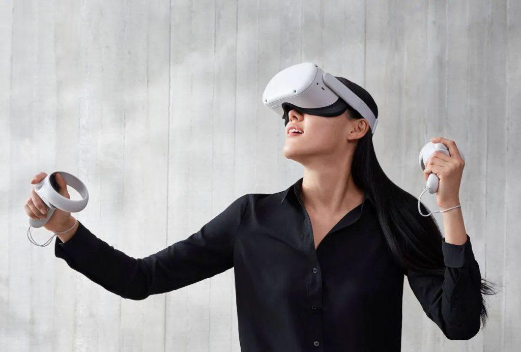 去年推出的 Oculus Quest 2 ,採用 Qualcomm Snapdragon XR2 晶片組。