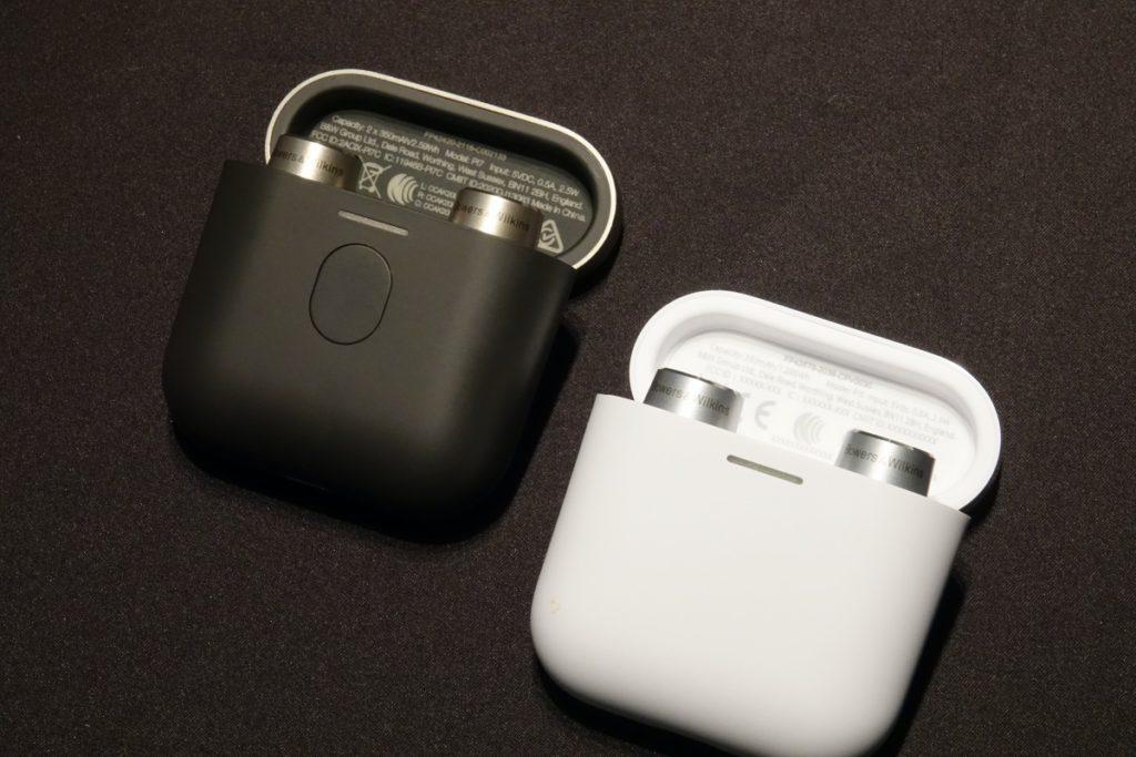 PI7 (左)和 PI5 (右)外接差不多兩者都同樣有黑、白兩色選擇。