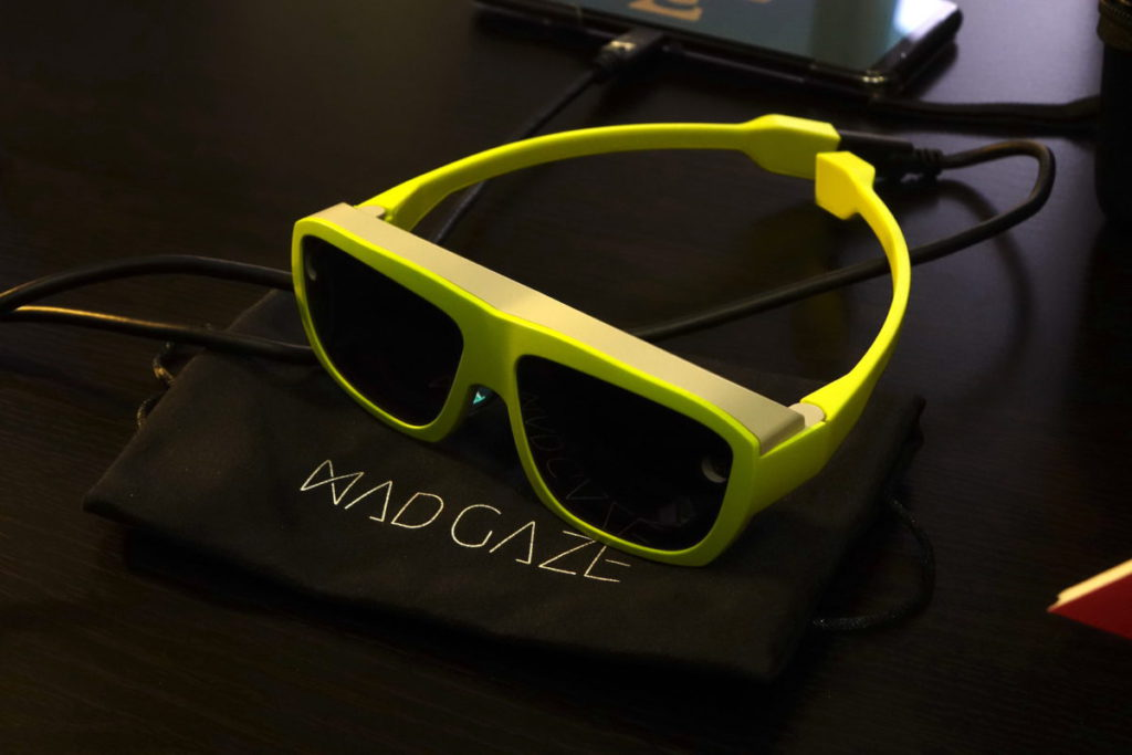 MAD Gaze 的 VR及 MR 智能眼鏡發展至第四代。