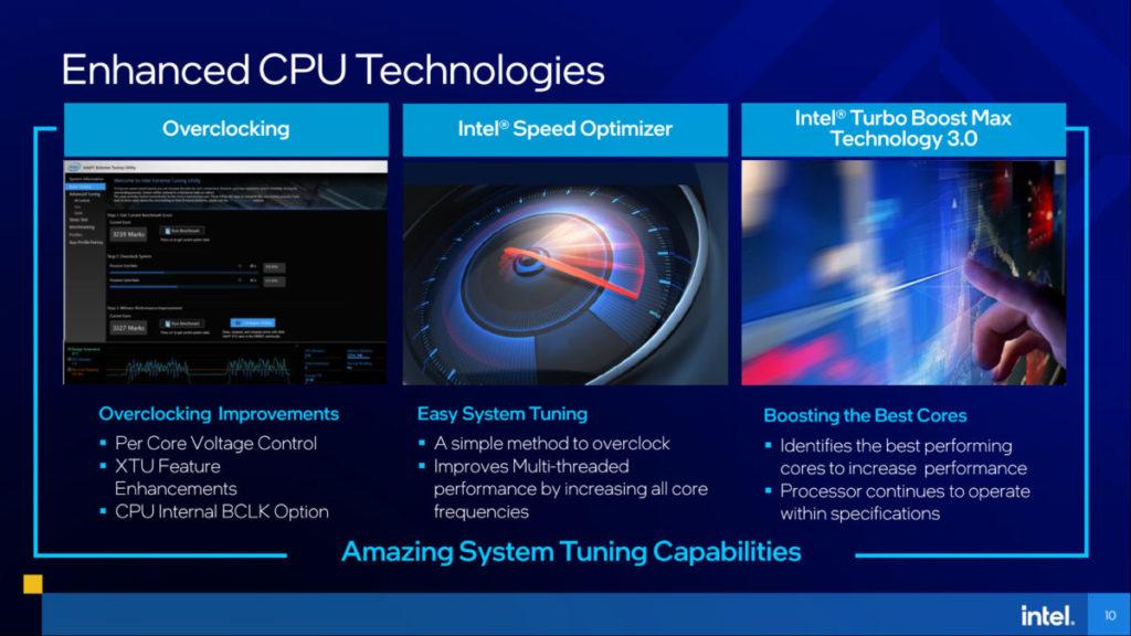 由於屬高性能筆電,所以會大量提供超頻等功能。