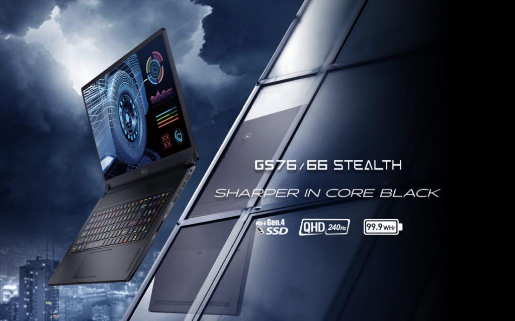 主打輕薄電競 GS76 / GS66 Stealth