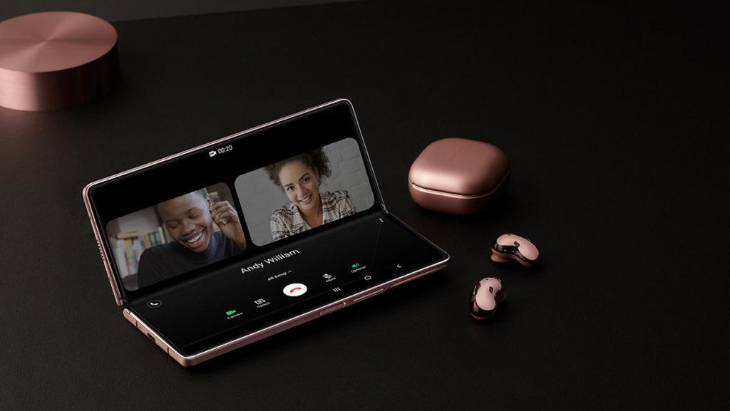 透過Galaxy 30日試用計劃入手Galaxy Z Fold2 5G 或Galaxy Z Flip 5G,即可免費獲贈Galaxy Buds Live無線降噪耳機乙對(建議零售價$1,498)。