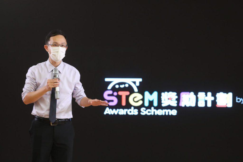 天主教領島學校李安迪校長表示培養STEM能加,正符合未來世界所需。