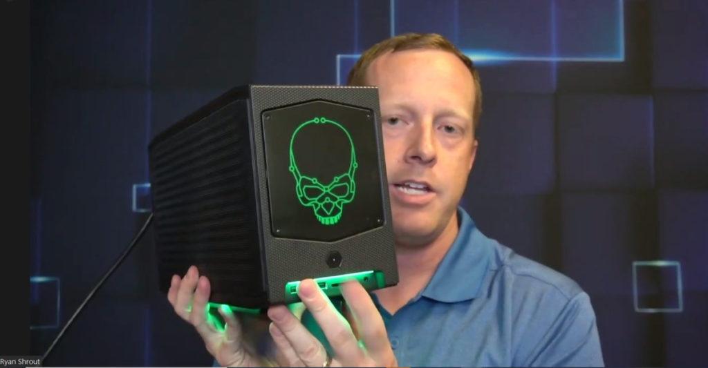 實物所見, Intel NUC 11 Extreme 還帶有精彩的 RGB 功能。