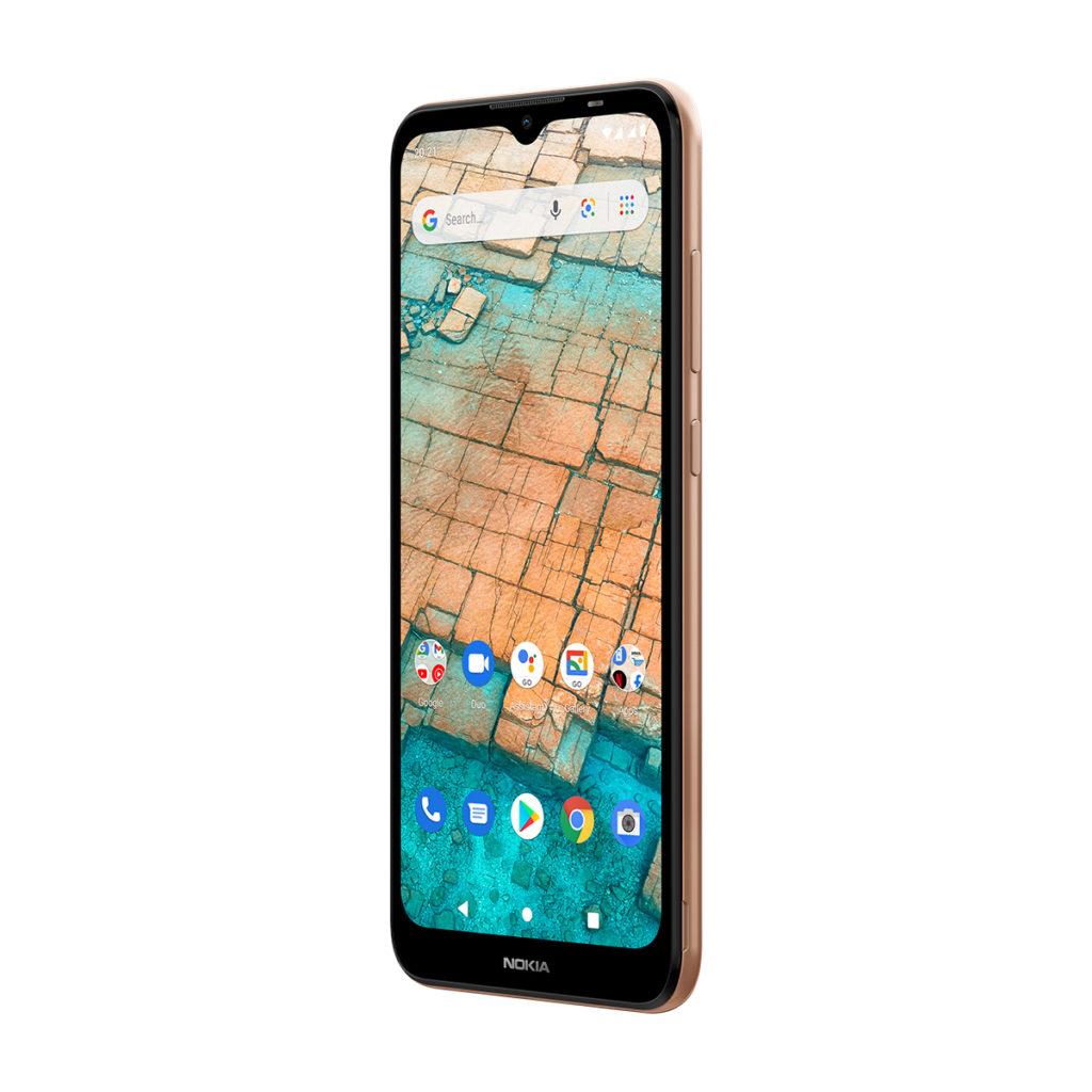 售價僅 $798 的 Nokia C20 主攻超平超價手機市場,採用 Android Go 系統及使用 Unisoc 處理器,內置 3,000mAh 電池支持全日用電所需。