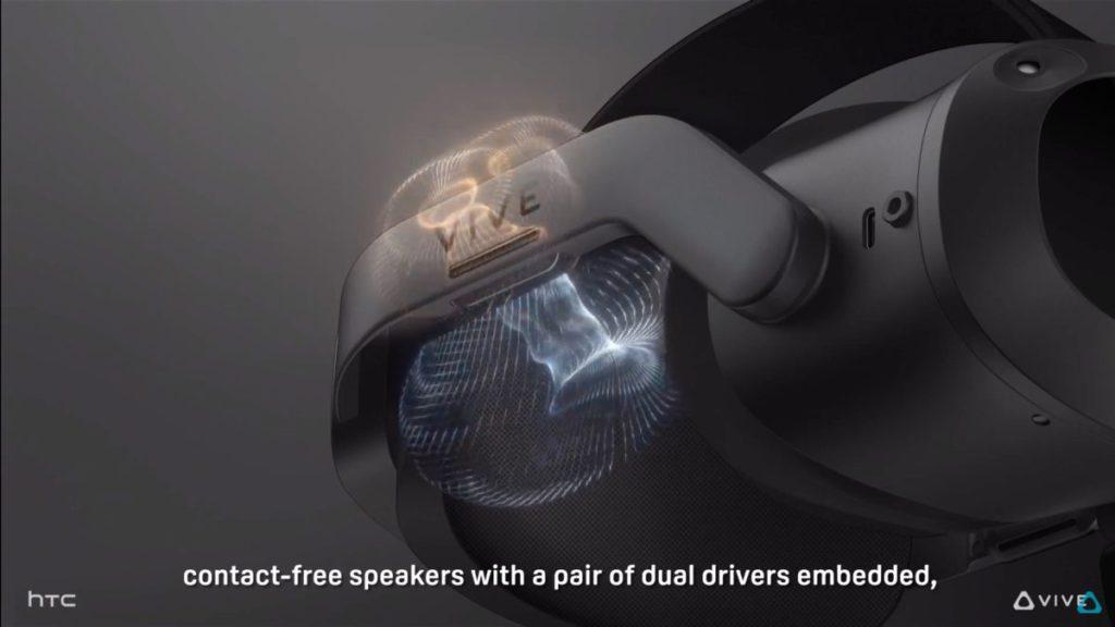 非接觸型開放式雙單元指向性喇叭提供沉浸式 3D 音響體驗,同時亦備有私隱模式。