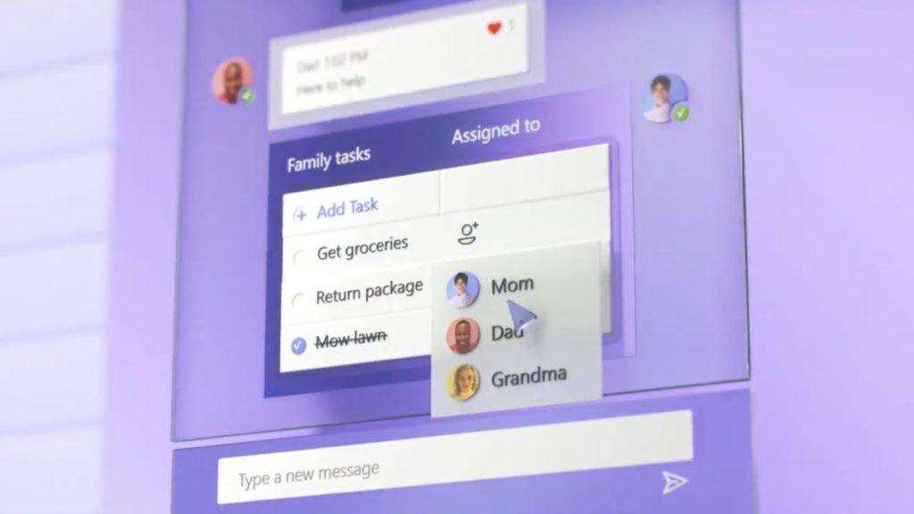 透過分享的待辦事項清單和指派任務,方便一家人共同達成目標。