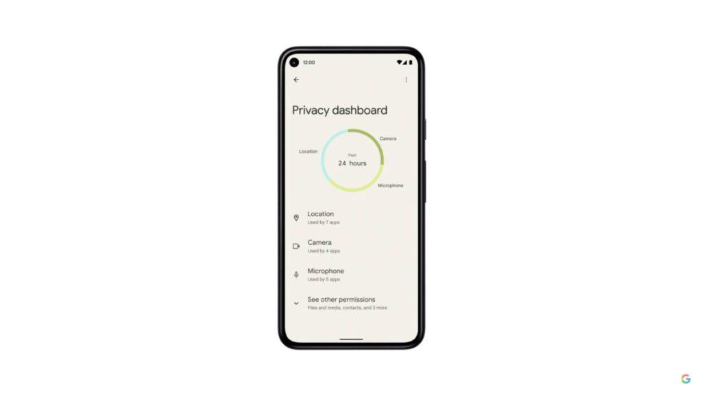 私隱儀錶板會在 Beta 2 推出。
