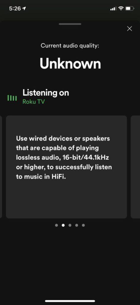 要成功收聽 HiFi 音樂,要用有線連接,支援 16-bit/44.1kHz 或以上無損音樂的裝置或喇叭。