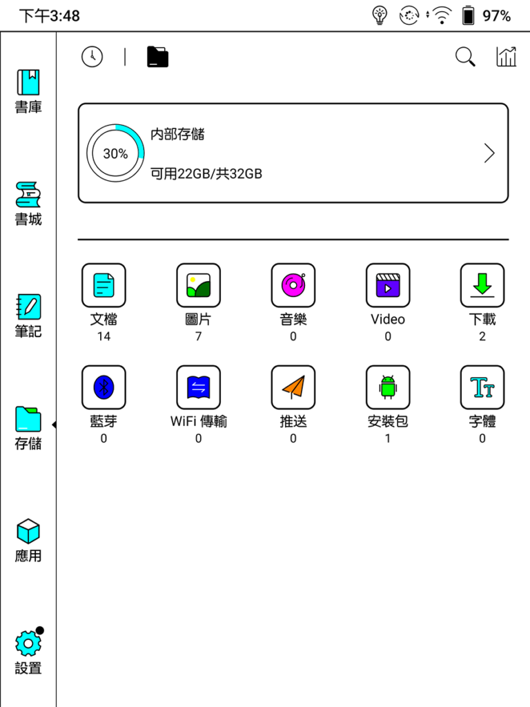 32GB RAM, 在扣除系統及預載程式後尚有 22GB 空間可使用。