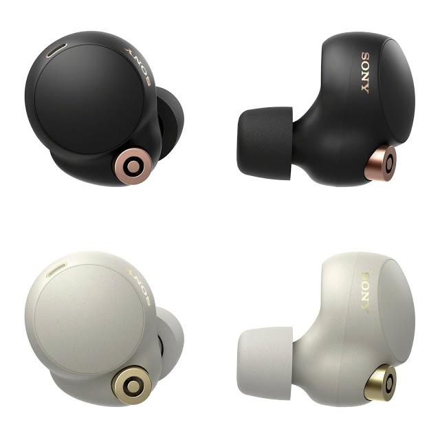 WF-1000XM4 耳機相當簡潔。
