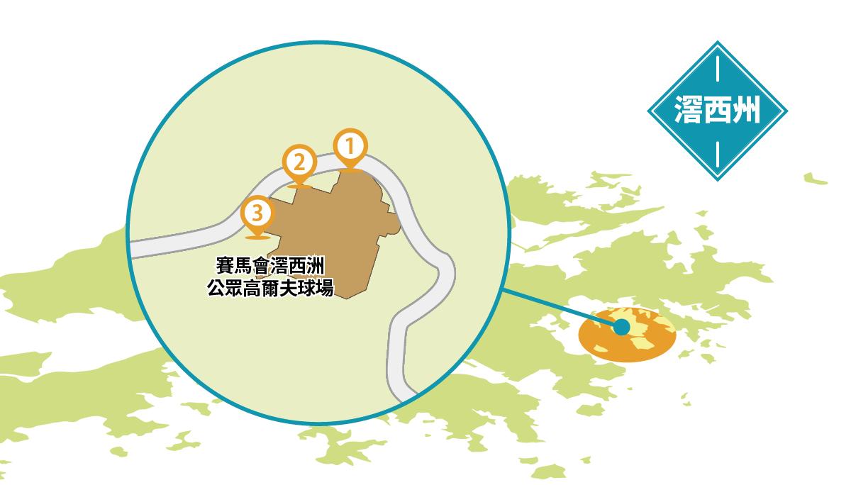 滘西洲地圖