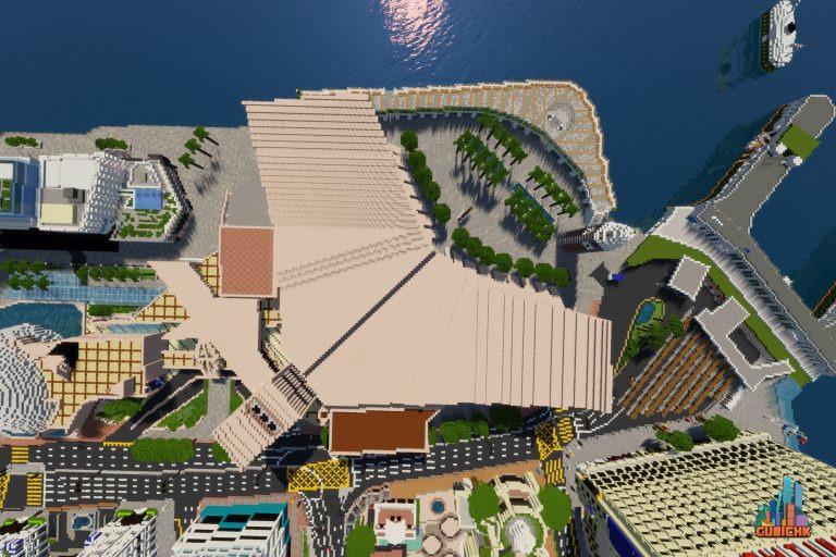 尖沙咀天星碼頭及香港文化中心一帶