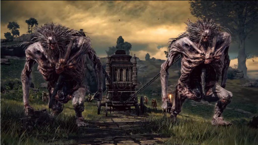第一印象怪物的造型與《黑暗靈魂》的風格十分類近,希望能走出自己的風格。
