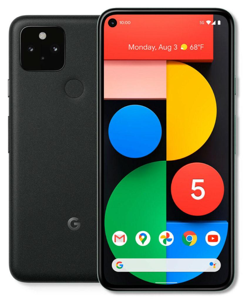 Pixel 5 5G 手機街場價約在 $4,880 左右。
