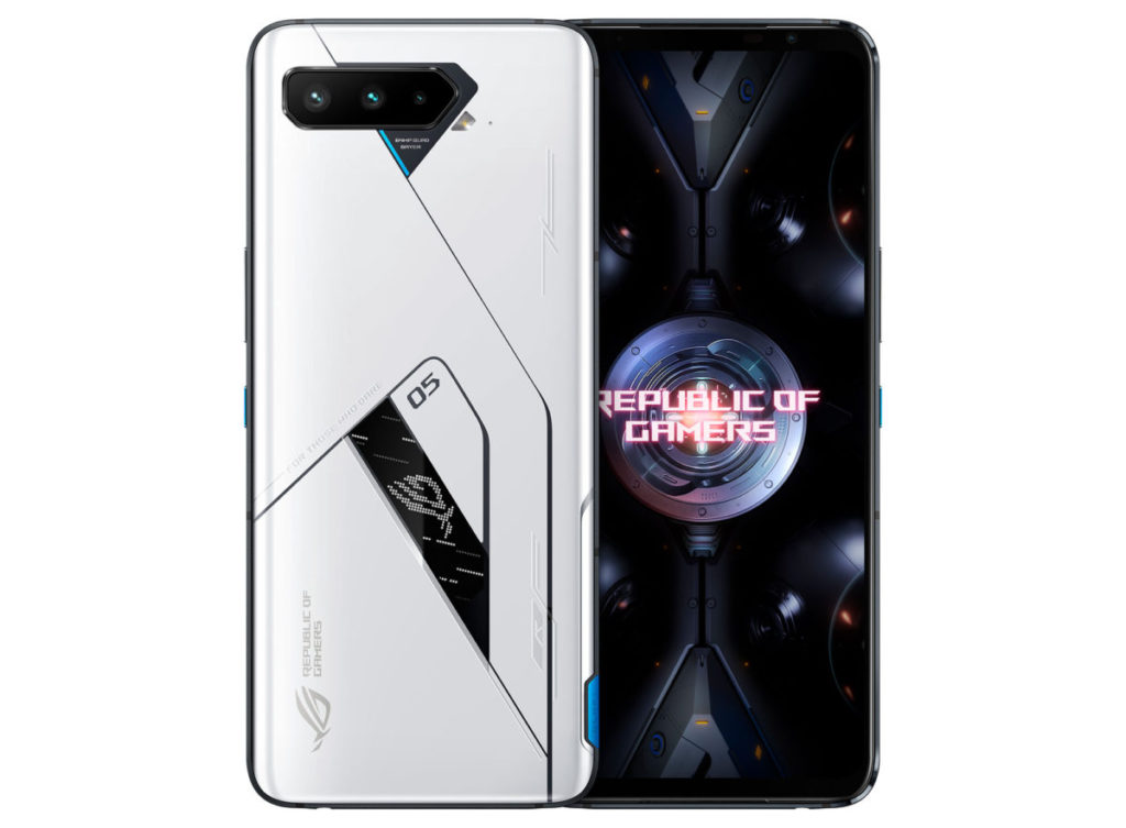ROG Phone 5 Ultimate機背配備了黑白色副屏幕,帶來玩味十足的屏幕效果。