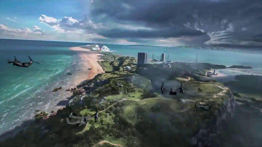 島嶼有可能是《 Battlefield VI 》其中一個地圖。