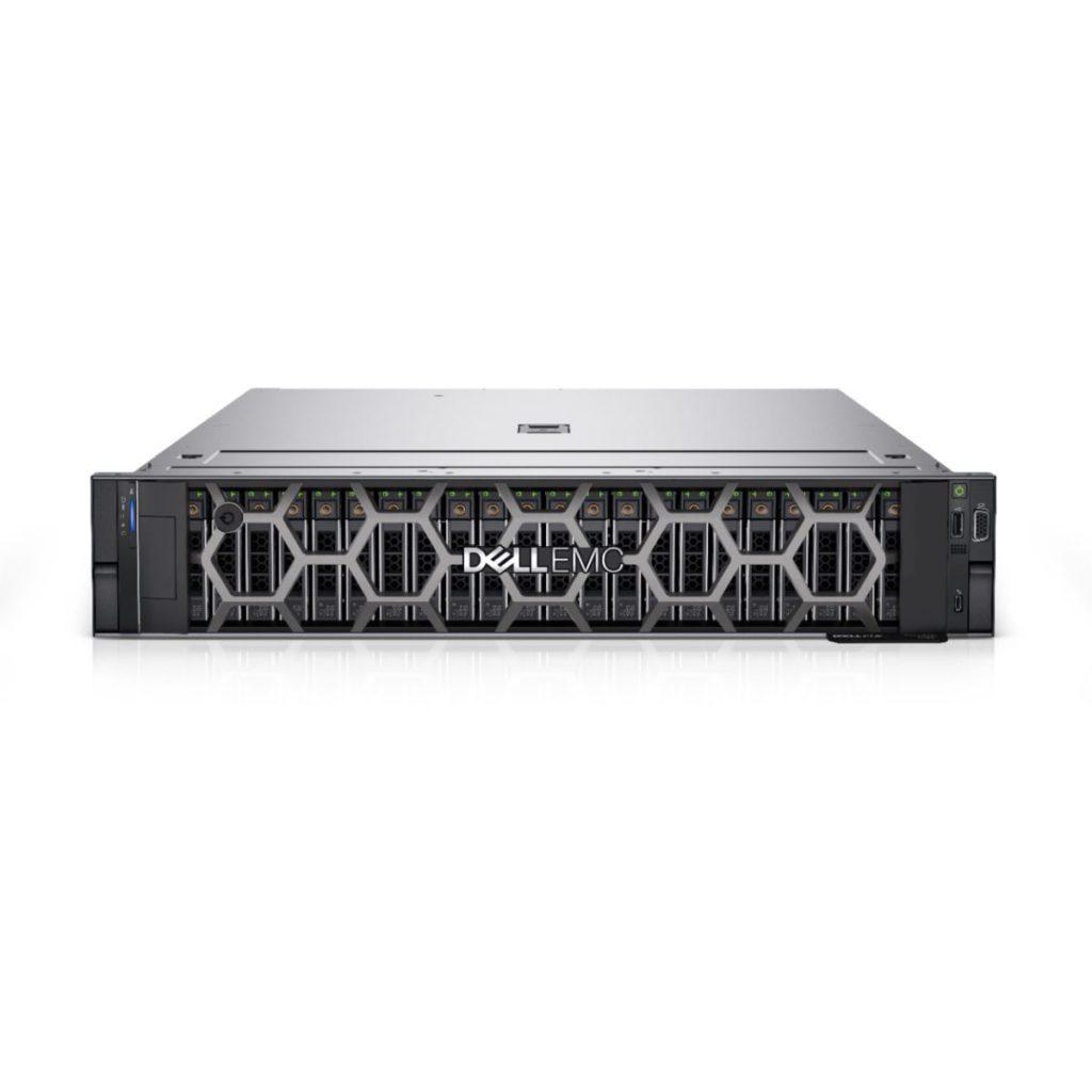 PowerEdge R750 採用英特爾第三代 Xeon Scalable 處理器,可加入 GPU 。