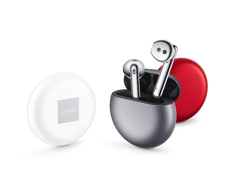 HUAWEI FreeBuds 4 具備人耳自我適應(AEM)降噪技術,在開啟降噪時耳機可自動檢測佩戴者的耳道大小及鬆緊度,從多種降噪程度中挑選出最佳降噪效果。