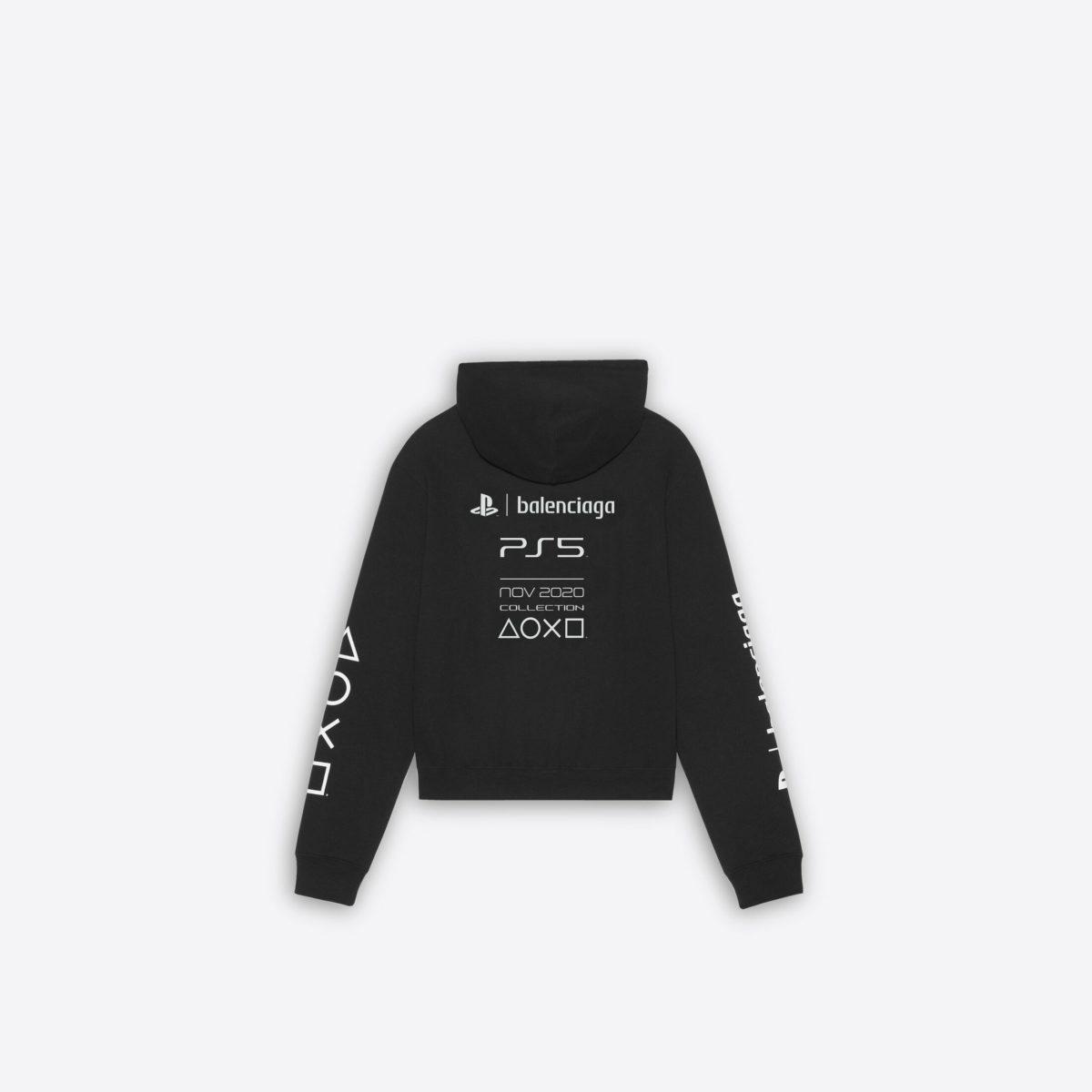 Balenciaga x PS5 衛衣背面