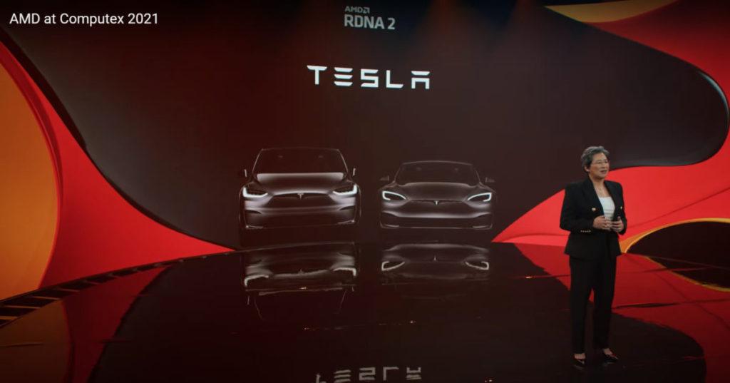 AMD RDNA2 GPU 已得到 Tesla 電動車採用