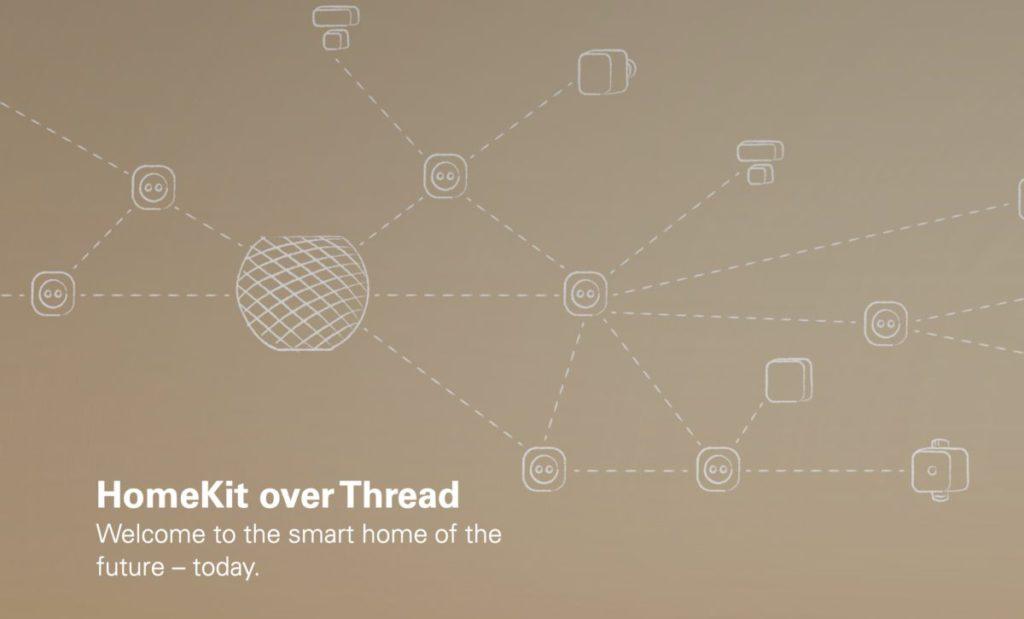 HomePod mini 支援的 Thread 是智能家居裝置之間的橋樑。