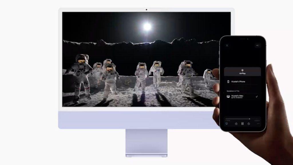 iPhone 終於可以 AirPlay 投映影片到 Mac 機了。