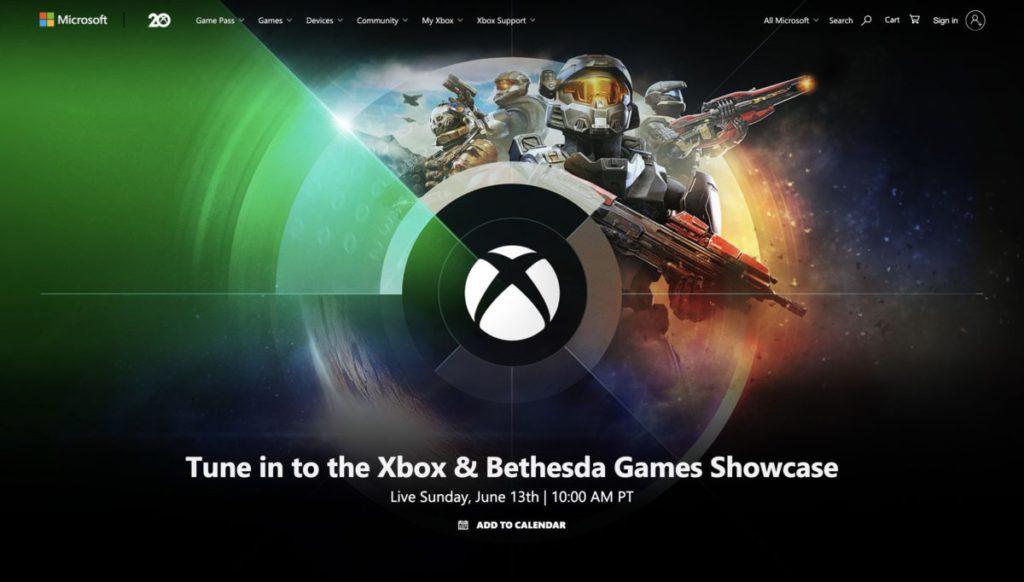 Xbox 和 Bethesda 製作室將於在香港時間下星期一凌晨 1 時在 E3 網上展中舉行聯合發表會。