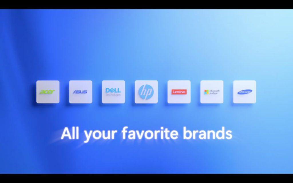 多間廠商將於年底推出預載 Windows 11 的電腦。