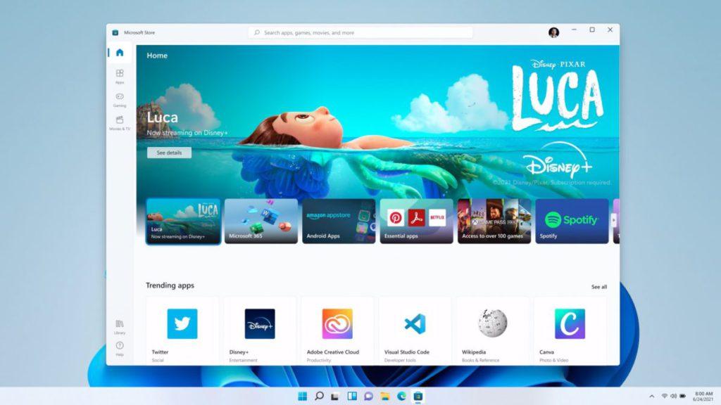 新設計的 Microsoft Store 接開發者以不同架構來開發程式,而不限於 UWP 程式。