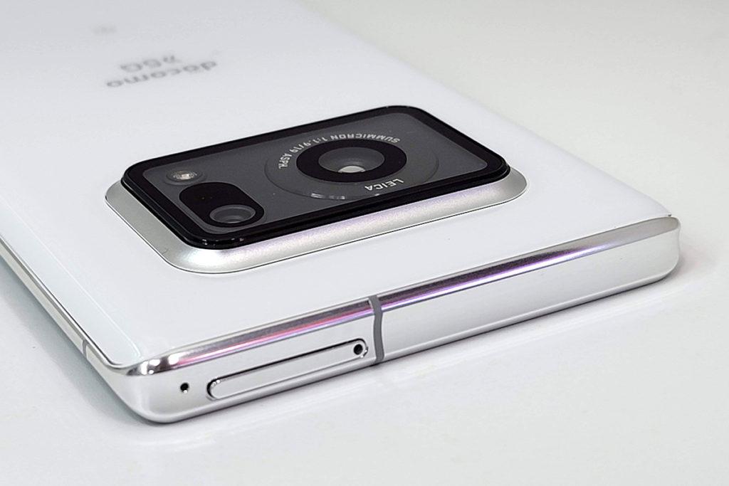 相機模組有一定厚度。