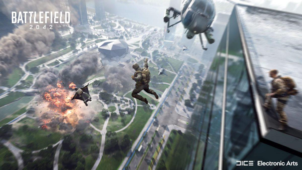 今次對戰可以容納高達 128 名玩家對戰,製造出一個大型戰爭環境。