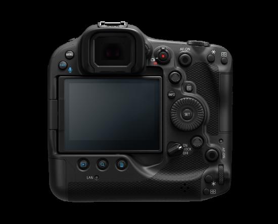 Canon EOS R3 機背與 EOS-1D X Mark III 相若。